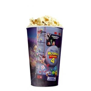 V 46 Стакан для попкорна «История игрушек 4»