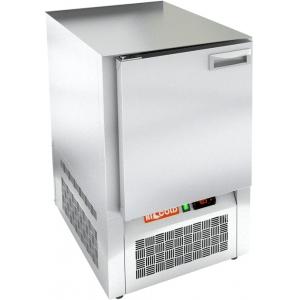 Стол морозильный, GN1/1, L0.57м, без столешницы, 1 дверь глухая, ножки, -10/-18С, пластификат, дин.охл., агрегат нижний