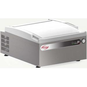 Машина для вакуумной упаковки, настольная, 1 камера 355х365х184мм, электронное управление, 1 шов 310мм, насос  8м3/ч, нерж.сталь