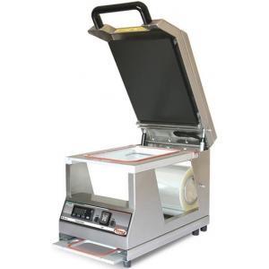 Машина для термоупаковки лотков, настольная, ширина пленки 200мм, электронное управление, 1 съемная матрица на 1 лоток 260х190мм