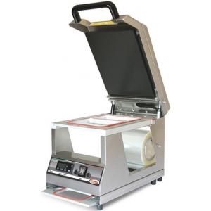 Машина для термоупаковки лотков, настольная, ширина пленки 200мм, электронное управление, 1 съемная матрица на 2 лотка: 190x137мм и 137x95мм