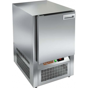 Стол холодильный, GN1/1, L0.57м, без столешницы, 1 дверь глухая, ножки, -2/+10С, нерж.сталь, дин.охл., агрегат нижний