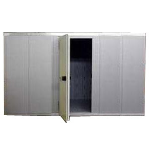 Камера морозильная замковая,  10.40м3, h2.16м, 1 дверь расп.левая, ППУ100мм