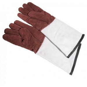 Перчатки пятипалые L 45см w 14см кухонные (пара), кожа