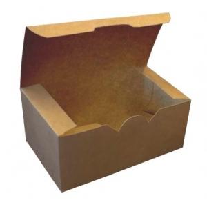 Коробка для наггетсов, крылышек, картофеля фри 350мл бумага крафт двухсторонний