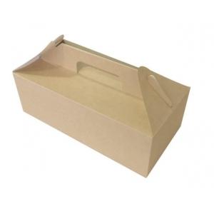 Коробка универсальная c ручками 4000мл бумага крафт