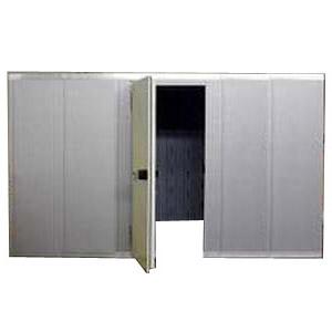 Камера холодильная замковая,  16.30м3, h2.12м, 1 дверь расп.левая, ППУ80мм, без пола, потолочная панель по короткой стороне