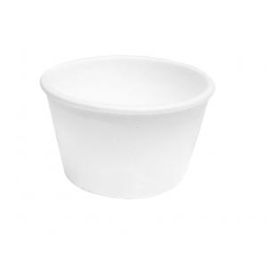 Креманка для мороженого 140мл вспененный полистирол белая