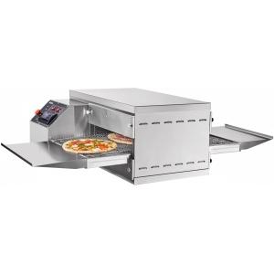 Печь для пиццы электрическая, конвейерная, 1 камера 509х489х88мм, электронное управление, нерж.сталь, настольная