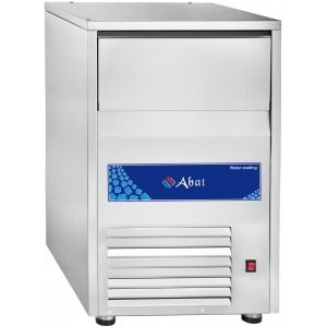 Льдогенератор для гранулированного льда,   90кг/сут, бункер 30.0кг, вод.охлаждение, корпус нерж.сталь