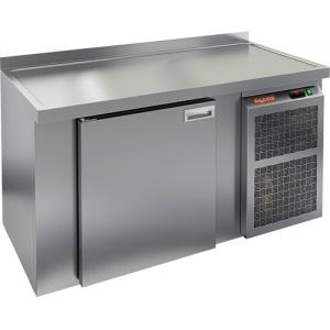 Cтол холодильный для кег и розлива пива, L1.51м, борт H50мм, 1 дверь глухая, ножки, 355л, -2/+10С, нерж.сталь, дин.охл., агрегат правый, 2 кега