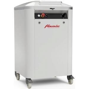 Тестоделитель полуавтоматический напольный, загрузка 20кг, 48 порций (60-400г), сталь окраш., колеса, гидравлический привод