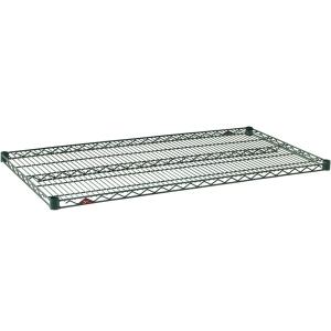 Полка решетчатая для стеллажа,  914х610х31мм, сталь с покрытием Metroseal3-Microban, для влажных помещений (б/у (бывший в употреблении))