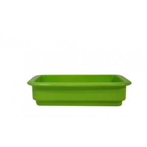 Гастроемкость GN1/4х65, фарфор, зеленая