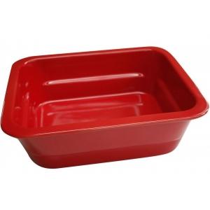 Гастроемкость GN1/2х100, фарфор, красная
