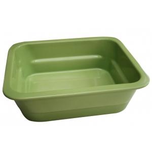 Гастроемкость GN1/2х100, фарфор, зеленая
