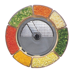 Диск-нож для овощерезки-куттера R402 и овощерезки CL30 Bistro, CL 40, кубик 10х10х10мм