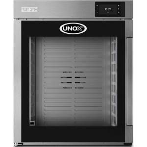 Шкаф тепловой EVEREO, 10GN1/1, 1 дверь стекло, +58/+75С, нерж.сталь, сенсорное.упр., конвекция, поперечная загрузка
