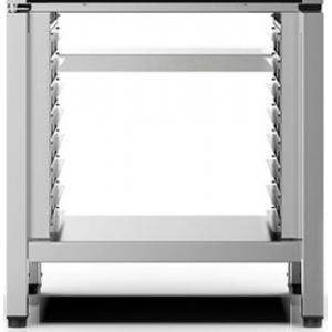 Подставка под шкаф тепловой XEEC-1011-EPR,  750х653х753мм, без борта, открытая, 1 полка сплошная, направляющие для 8GN1/1