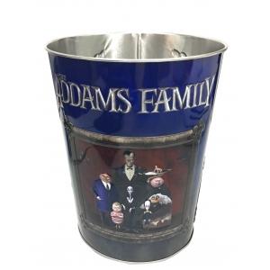 Жестяное ведро для попкорна «Семейка Аддамс», 130 унций/3.80л.