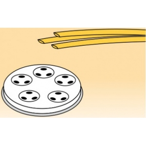 Матрица латунно-бронзовая для аппарата для макаронных изделий MPF 1.5N, linguine (спагетти овальные),  3х1.6мм