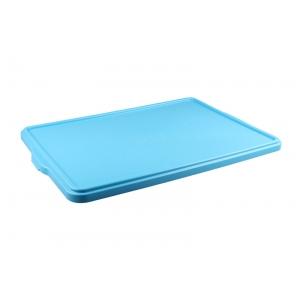 Крышка для лотка L 66,5см w 44см h 2,8см, полипропилен голубой