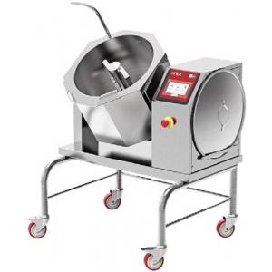 Котёл пищеварочный электрический, опрокидывание ручное, 30л, нагрев прямой, корпус нерж.сталь, миксер, для кондитерских производств