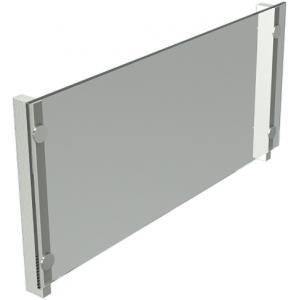 Экран защитный для модулей встраиваемых Виола, L1.13м, стекло, стойки нерж.сталь, фронтальный