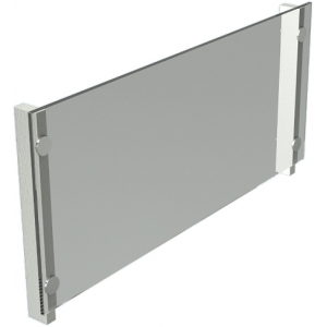 Экран защитный для модулей встраиваемых Виола, L1.46м, стекло, стойки нерж.сталь, фронтальный