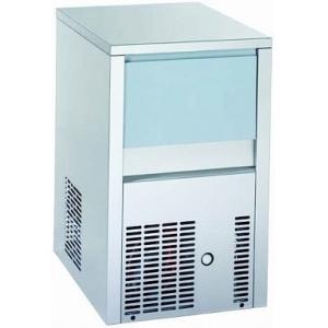 Льдогенератор для кускового льда,  20кг/сут, бункер 6.0кг, вод.охл.