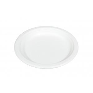Тарелка 155мм круглая сахарный тростник белая