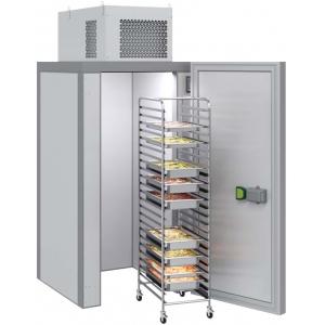 Камера холодильная Шип-Паз,   1.44м3, h2.12м, 1 дверь расп.универсальная, ППУ80мм, потолочный моноблок (-5/+5С), без пола