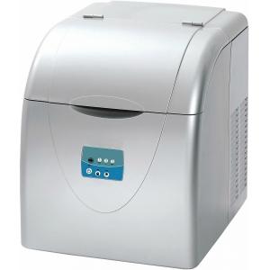 Льдогенератор для кускового льда,  15кг/сут, бункер 3.0кг, возд.охлаждение, корпус пластик, форма «пальчик», настольный, заливной