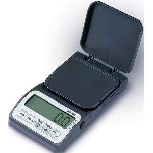 Весы электронные порционные, карманные, ПВ 0.05-250г, платформа 62х72мм, питание от 3 батарей по 1,5 В размером AAA, корпус пластик
