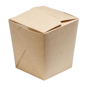 Контейнер универсальный 460мл Крафт бумага