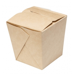 Контейнер универсальный 700мл Крафт бумага
