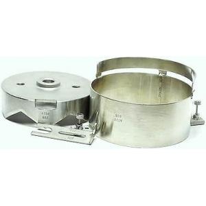 Комплект для аппарата для открывания консервных банок 625A: нож-корона, кольцо, фиксатор, для банки D130мм