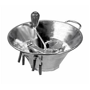 Машинка для протирки пюре, 3 диска, D31, H15, B31см, нерж. сталь