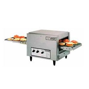Печь для пиццы электрическая, конвейерная, 1 камера 260х430х38(76)мм, электромех.управление, нерж.сталь (Уценённое)