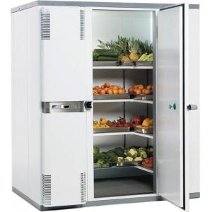 Камера холодильная замковая,   5.00м3, h2.10м, 1 дверь расп.правая, ППУ80мм, левый моноблок (-2/+5С)