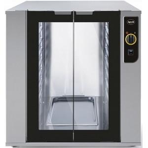 Шкаф расстоечный,  8GN1/1(EN), 2 двери распашные стекло, +60С, нерж.сталь, 220V, электромех.упр., увлажнение, для AD46
