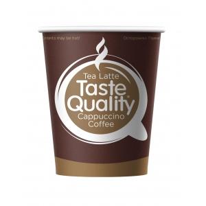 Стакан бумажный для горячих напитков Taste Quality 250мл