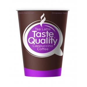 Стакан бумажный для горячих напитков Taste Quality 300мл