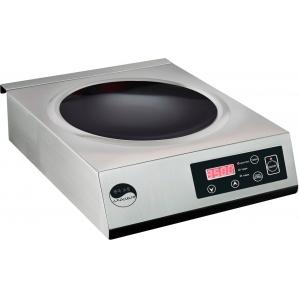 Плита индукционная WOK, 1 конфорка 1х3.5кВт, настольная, электронное управление