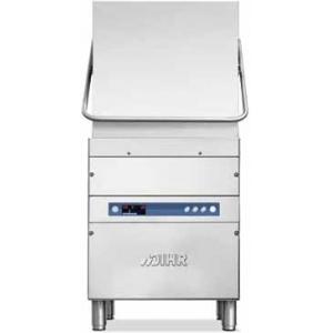 Машина посудомоечная купольная, 500х500мм, 72-45-30-20кор/ч, гор.вода, доз.опол., D тарелки 410мм, 4 цикла, электронное управление