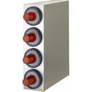 Диспенсер для стаканов 236-1360мл, D73/121мм, настольный, 4 секции