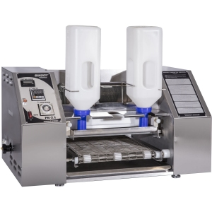 Аппарат блинный автоматический,   90шт./ч, нерж.сталь, 2 емкости 2х3л для теста, копиры для блинов 2хD300мм