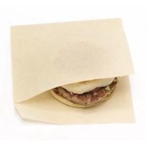 Уголок для гамбургера 175х150мм бумага бежевый