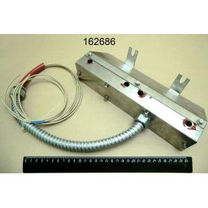 Корпус конфорки с металлорукавом для гриля ГСЧ-8ЭМ