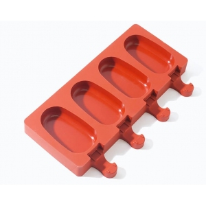 Силиконовая форма для выпечки Эскимо L 20см w 11,3 см, силикон